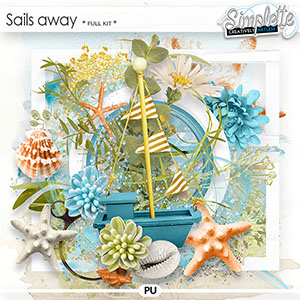 Sails away (full kit) by Simplette