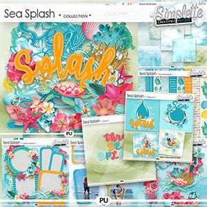 Sea Splash (collection) by Simplette | Oscraps