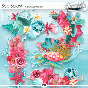 Sea Splash (embellishments) by Simplette | Oscraps