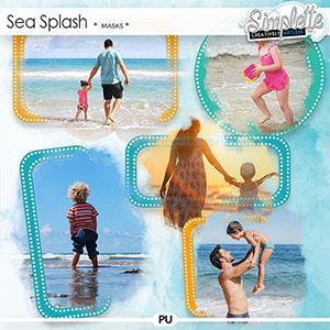 Sea Splash (masks) by Simplette | Oscraps