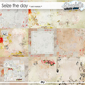 Seize the Day (art papers) by Simplette