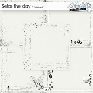 Seize the Day (overlays) by Simplette