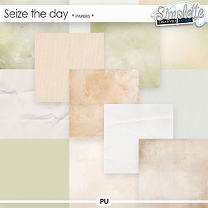 Seize the Day (papers) by Simplette