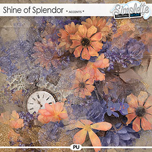 Shine of Splendor (accents) by Simplette | Oscraps