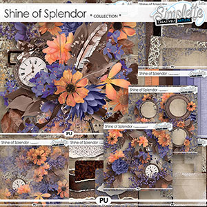 Shine of Splendor (collection) by Simplette | Oscraps