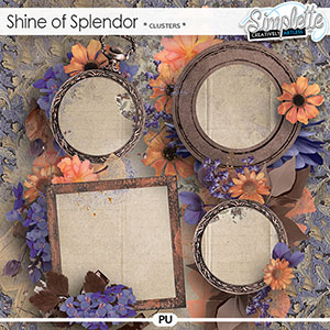 Shine of Splendor (clusters) by Simplette | Oscraps