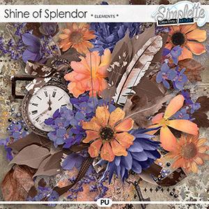 Shine of Splendor (elements) by Simplette | Oscraps
