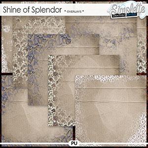 Shine of Splendor (overlays) by Simplette | Oscraps