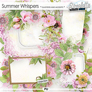 Summer Whispers (clusters and accents)