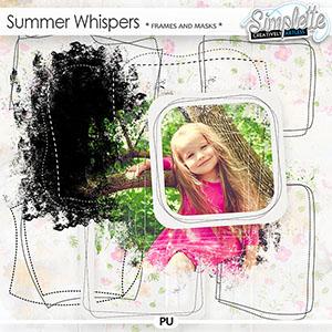 Summer Whispers (frames and masks)