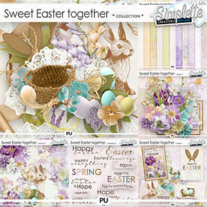 Sweet Easter Together (collection with free cards) by Simplette