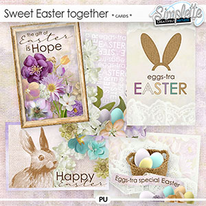 Sweet Easter Together (cards) by Simplette