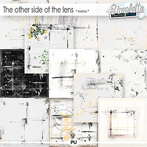 The other side of the lens (papers) by Simplette