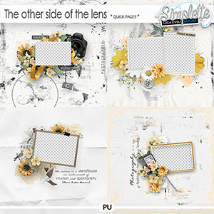 The other side of the lens (quick pages) by Simplette