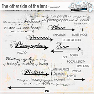 The other side of the lens (wordarts) by Simplette