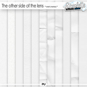 The other side of the lens (white papers) by Simplette