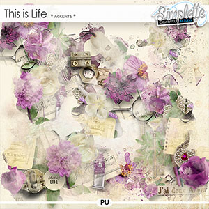 This is Life (accents) by Simplette | Oscraps