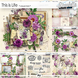 This is Life (collection) by Simplette | Oscraps
