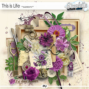 This is Life (elements) by Simplette | Oscraps