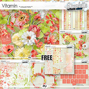 Vitamin (collection with FREE pack)