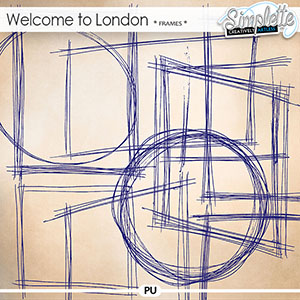 Welcome to London (penciled frames)