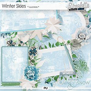 Winter Skies (clusters) by Simplette