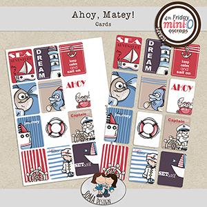 SoMa Design: Ahoy, Matey! - Cards