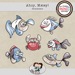 SoMa Design: Ahoy, Matey! - Characters