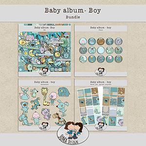 SoMa Design: Baby album - Boy - Bundle