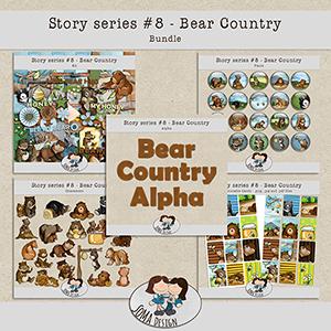 SoMa Design: Bear Country - Bundle - Story Series #8