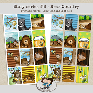 SoMa Design: Bear Country - Cards - Story Series #8