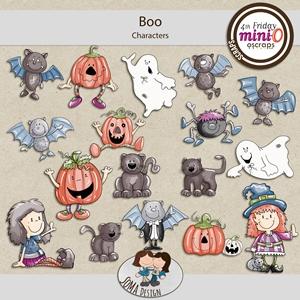 SoMa Design: Boo - MiniO - Characters