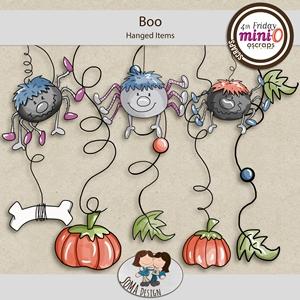 SoMa Design: Boo - MiniO - Hanged Items