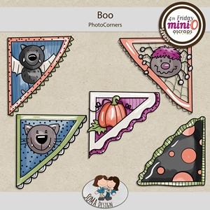 SoMa Design: Boo - MiniO - Photocorners