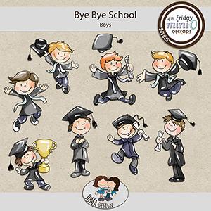 SoMa Design: Bye Bye School - MiniO - Boys