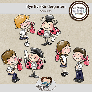 SoMa Design: Bye Bye Kindergarten - MiniO - Characters