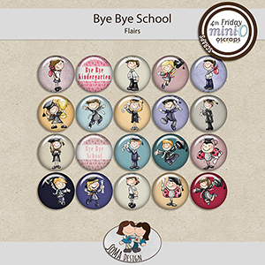 SoMa Design: Bye Bye School - MiniO - Flairs