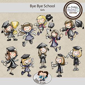 SoMa Design: Bye Bye School - MiniO - Girls