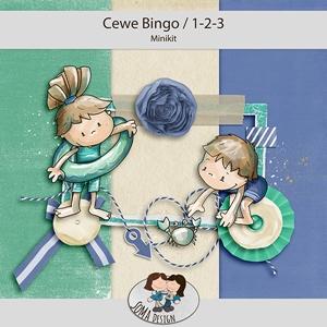 SoMa Design: Cewe Bingo 1-2-3 Challenge Minikit