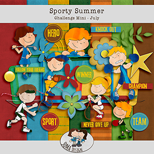 SoMa Design: Sporty Summer - Challenge Mini