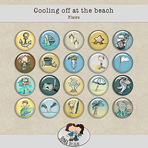SoMa Design: Cooling Off At The Beach - Flairs