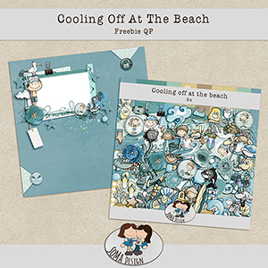SoMa Design: Cooling Off At The Beach - Freebie QP