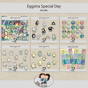 SoMa Design: Eggstra Special Day - Bundle
