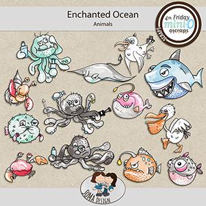 SoMa Design: Enchanted Ocean MiniO - Animals
