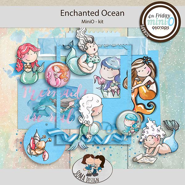 SoMa Design: Enchanted Ocean MiniO - Kit