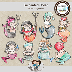 SoMa Design: Enchanted Ocean MiniO - Oldies but Goodies