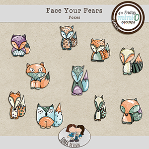 SoMa Design: Face Your Fears - Foxes