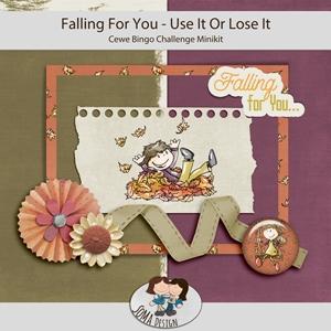 SoMaDesign: Falling For You - Cewe bingo Challenge Minikit