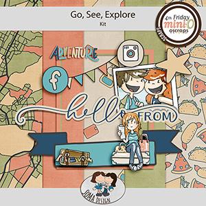 SoMa Design: Go, See, Explore - MiniO - Kit