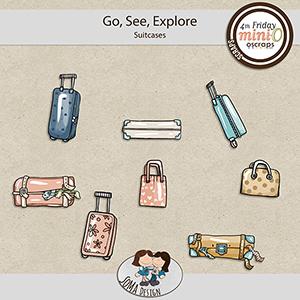 SoMa Design: Go, See, Explore - MiniO - Suitcases
